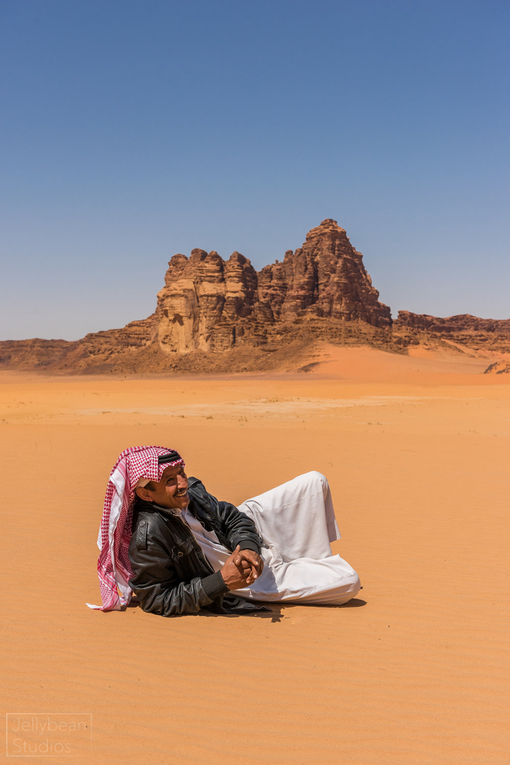 Relaxed as Lawrence of Arabia