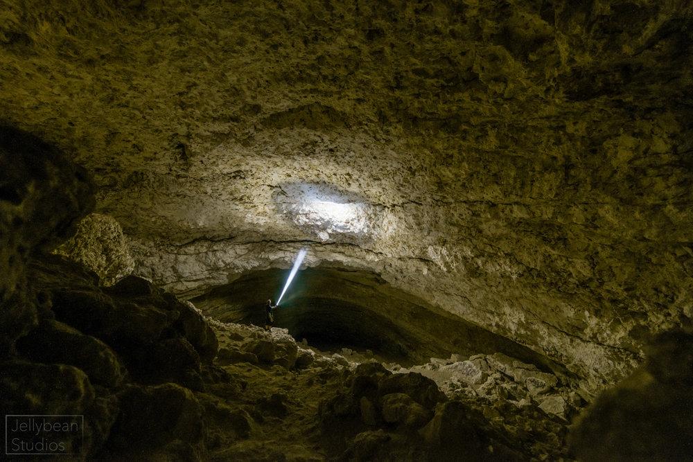 Inside a sinkhole