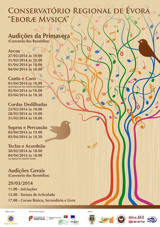 Audições Primavera 2014