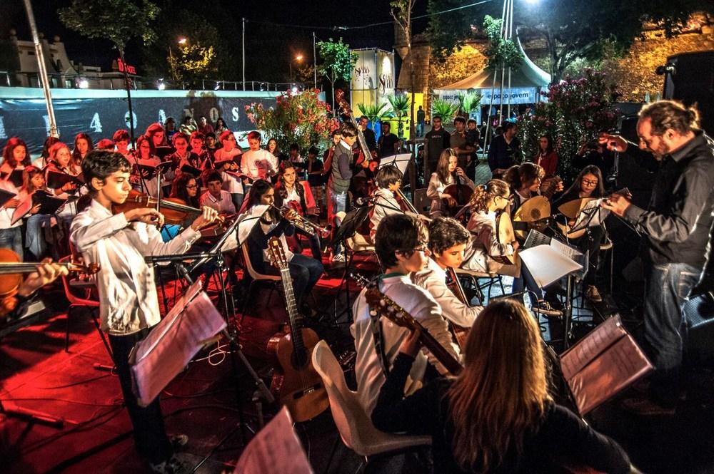 CREV – Conjuntos Instrumentais do 8º Ano (Évora, 2014) © José Farinha
