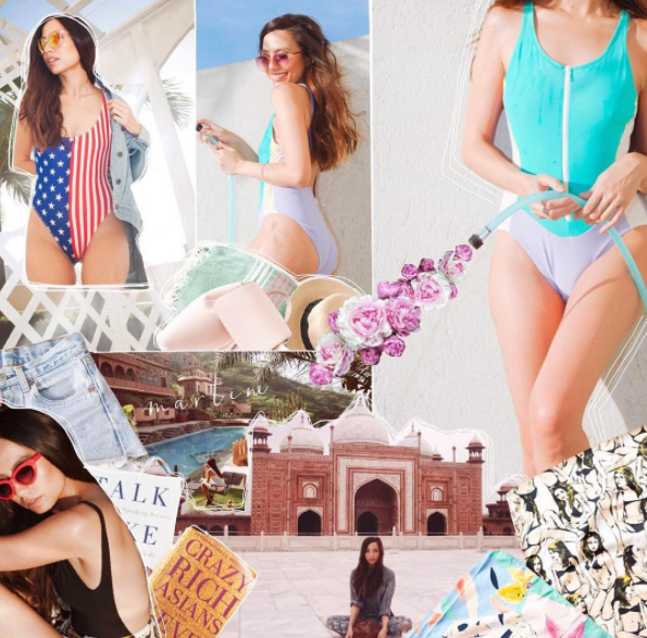 METRO MAGAZINE - #MetroGirlsOfSummer Collage Series