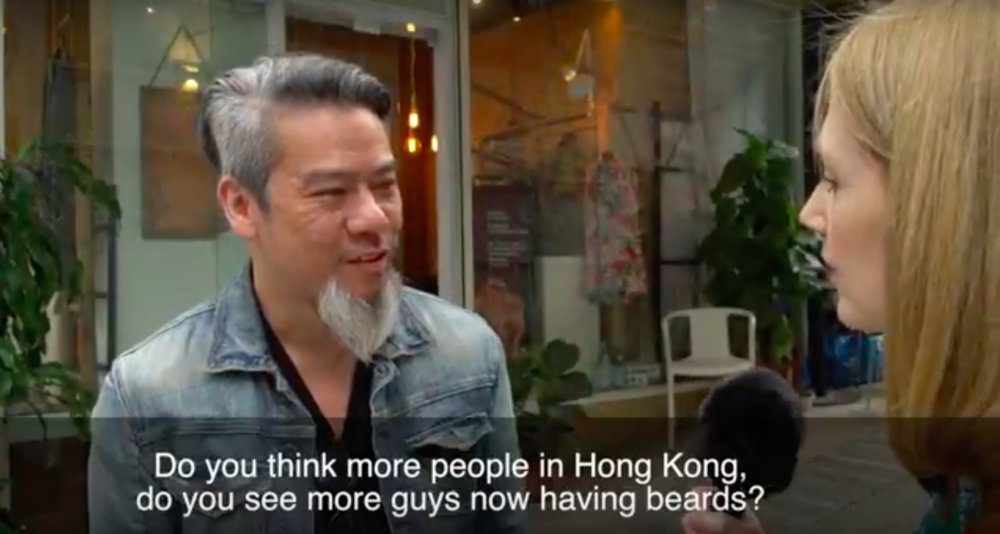 Stubble trouble - Asia hipsters, you're risking a Bad Beard Day