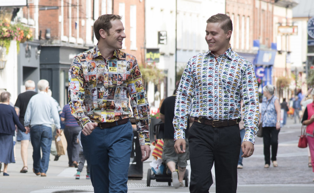 Claudio Lugli shirts in Widemarsh Street Hereford.jpg