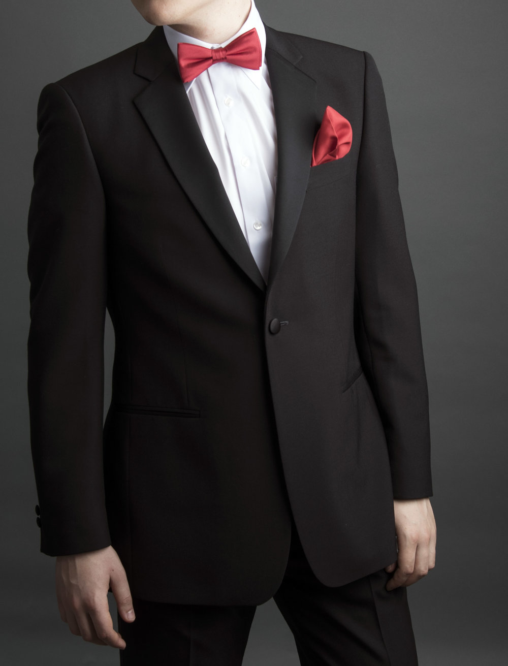 Dinner jacket with red bow tie and pocket square for web.jpg