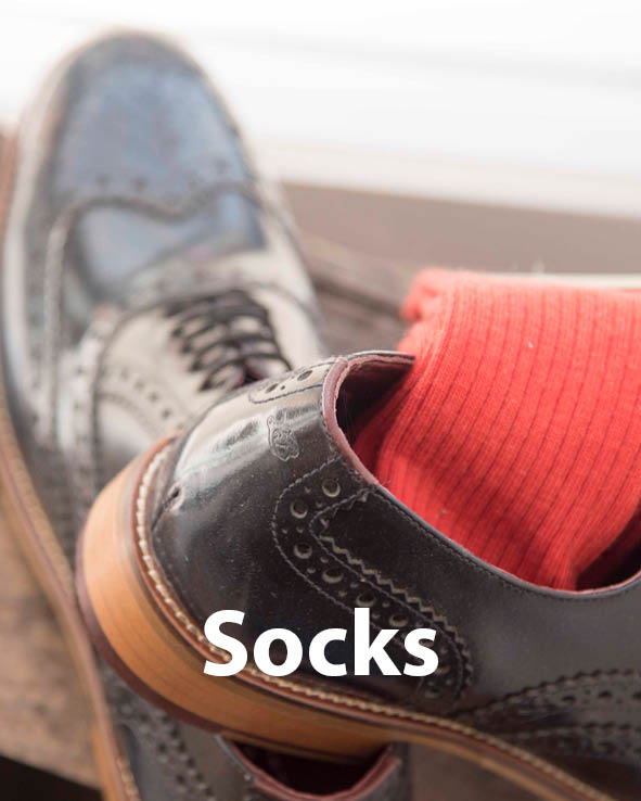 Image gateway to the socks sales page on Symonds of Hereford website