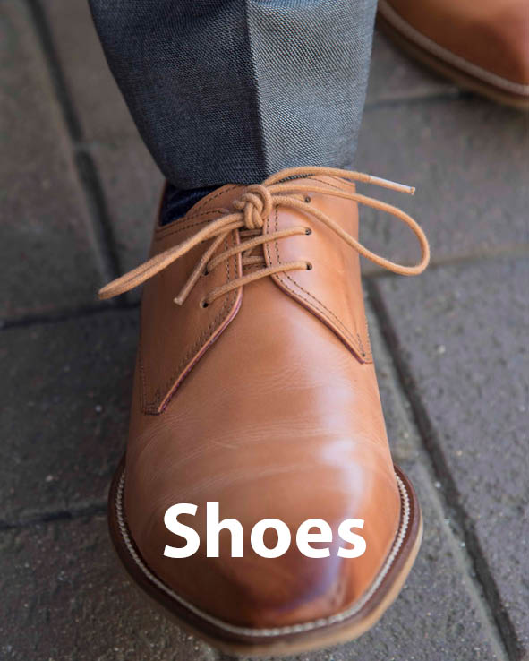 Image gateway to men's shoes sales page on Symonds of Hereford website