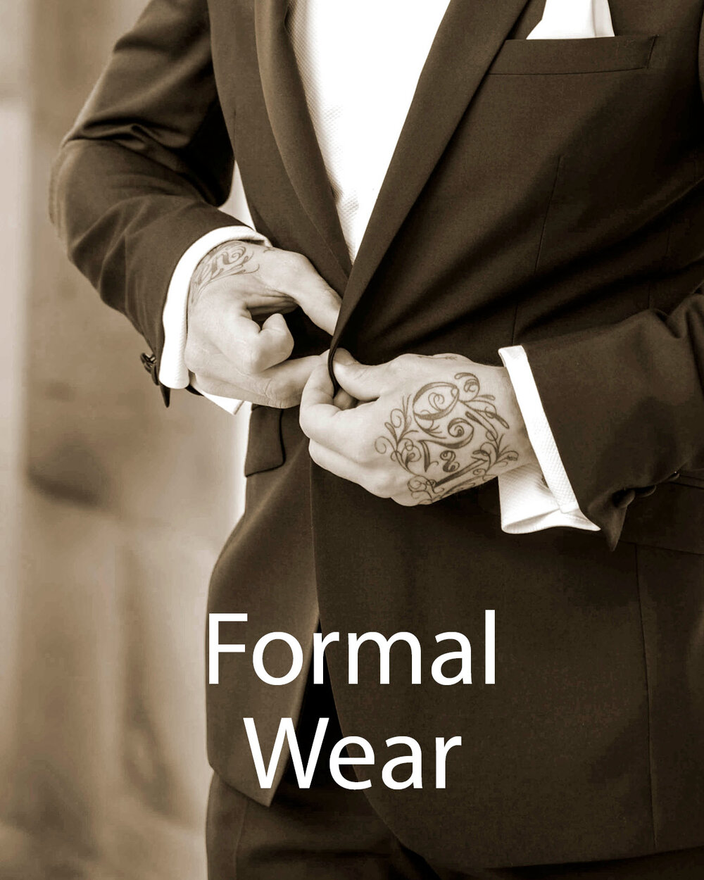 Image gateway to Formal Wear page on Symonds of Hereford website