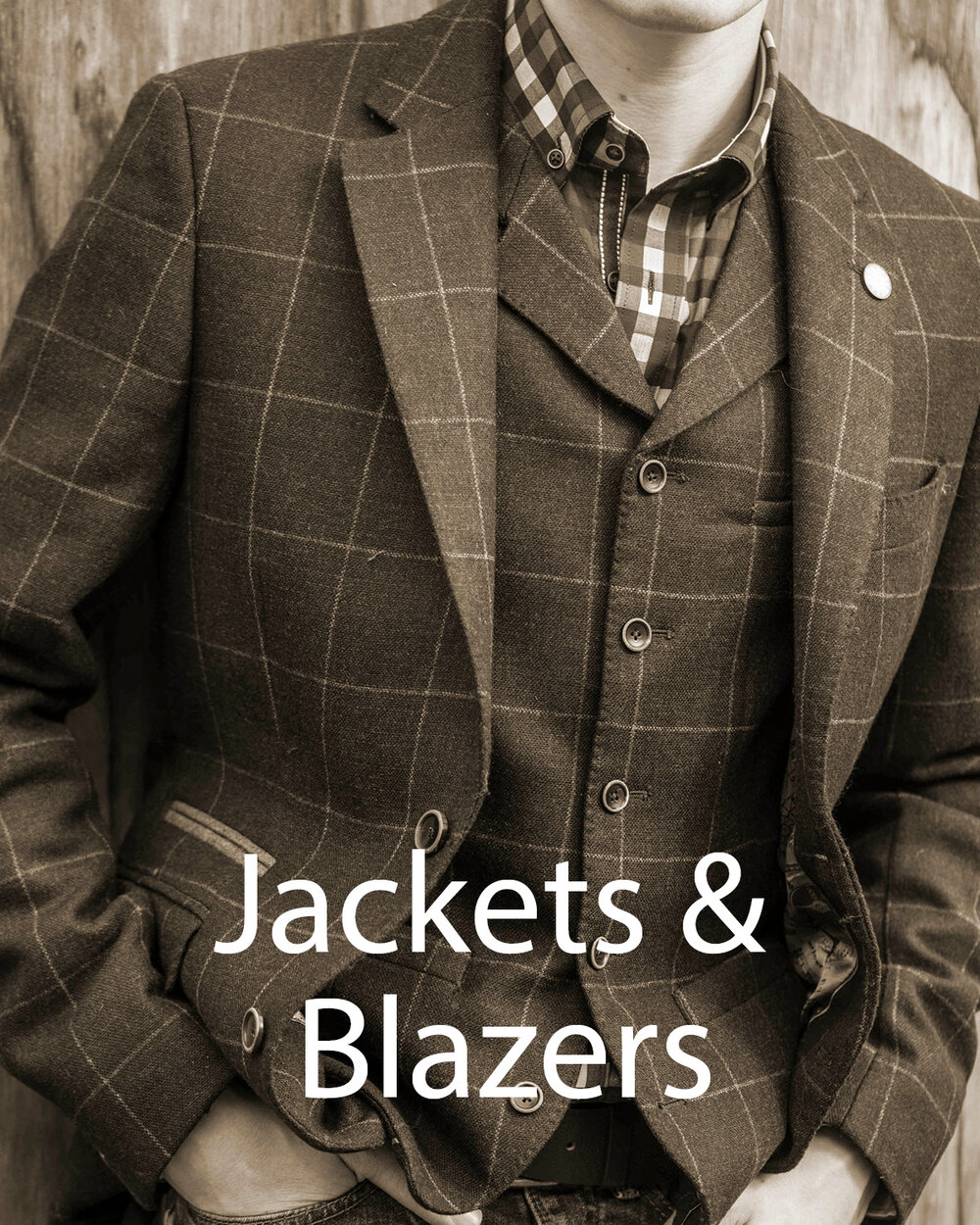 Image gateway to Jackets, Blazers and waistcoats page on Symonds of Hereford website