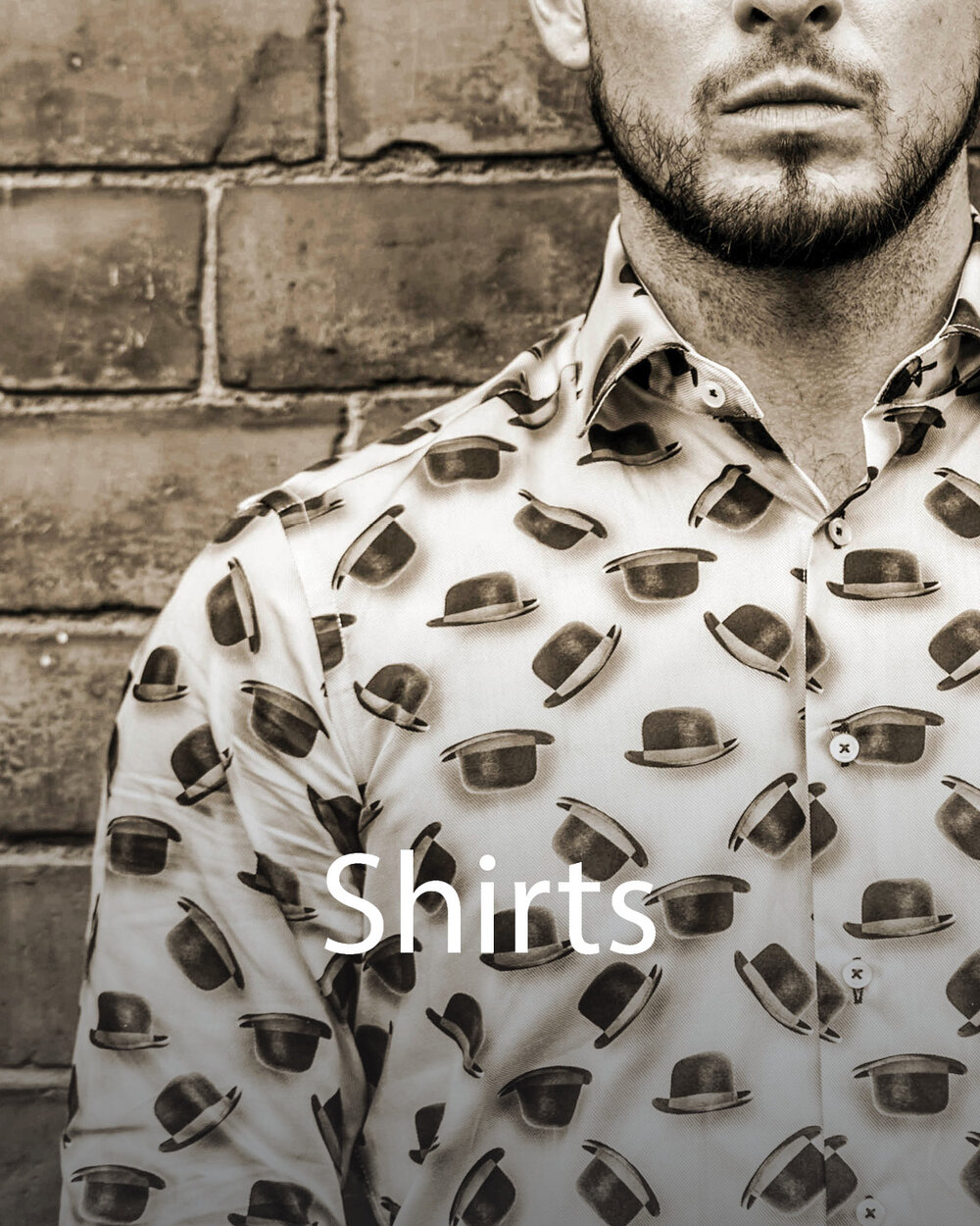 Image gateway to shirts shop page on Symonds of Hereford website