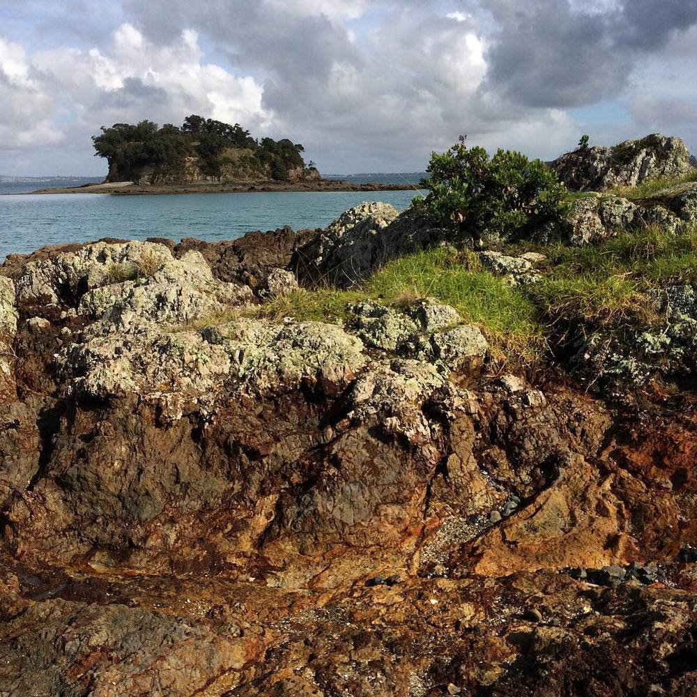 Wandering around Waiheke Island - what an amazing location for an art exhibition!