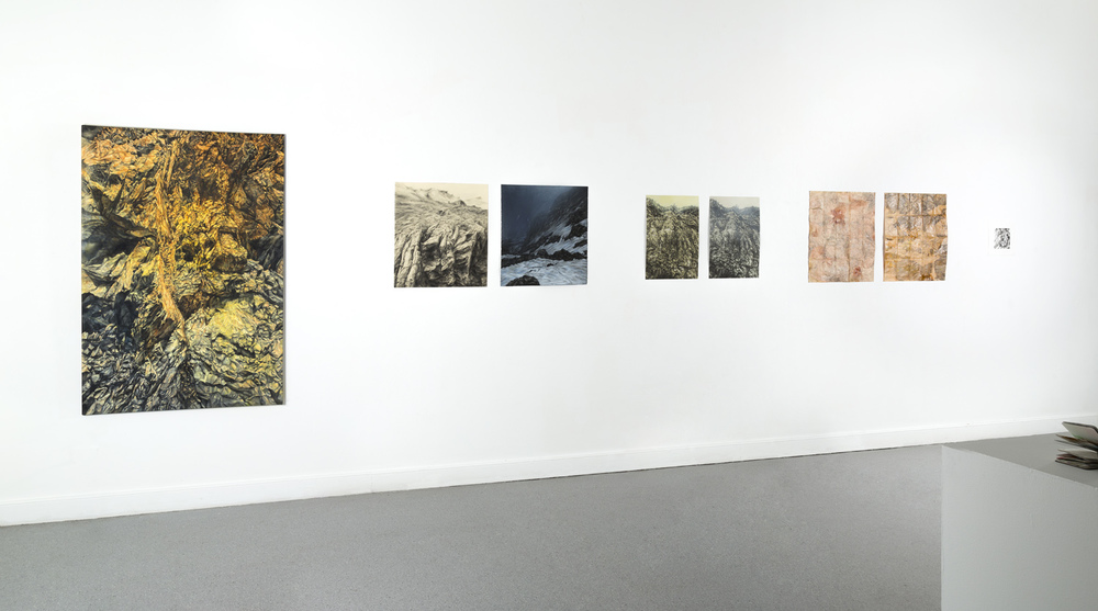 Barranco (Ravine), A.N.U. Photospace Gallery, 2012 (photo by Dean Butters)
