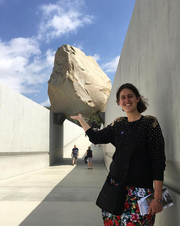 being an art tourist with Michael Heizer's 'Levitated Mass' @ LACMA