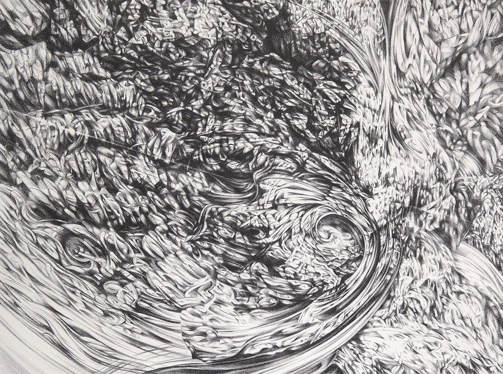 Spiral, 2015, lithograph, 56cm x 76cm
