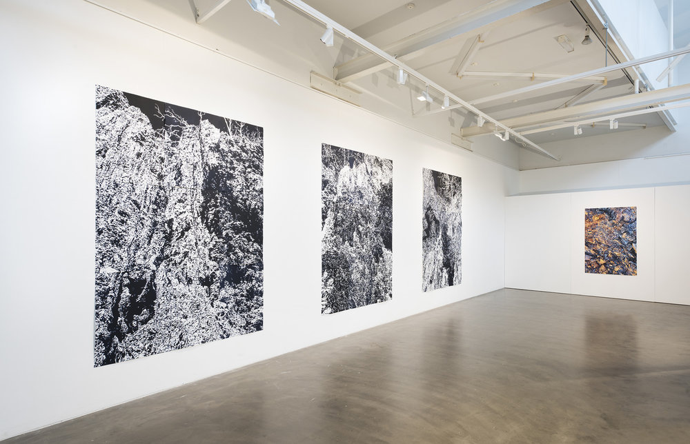 'Precipice' solo exhibition, ANCA Gallery, Canberra (Photo by Brenton McGeachie)