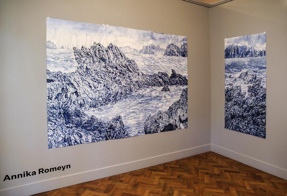 'Upheaval' install, 2019, Goulburn Regional Art Gallery