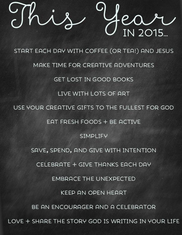 2015 List