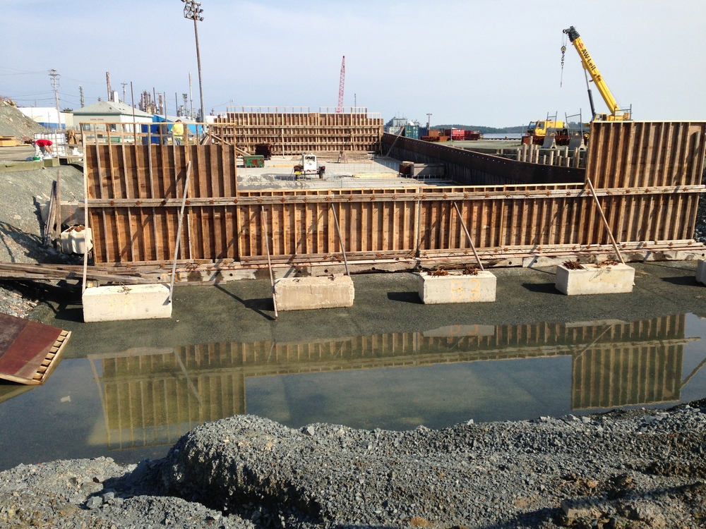 Forming and Pouring the Pontoon Walls