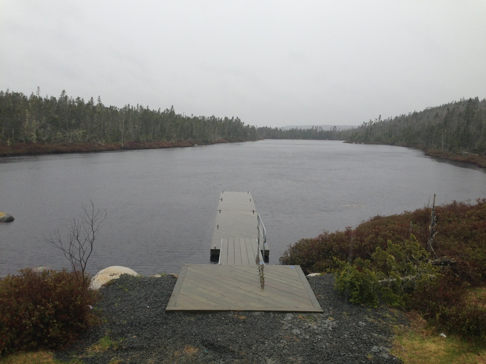 Lake Crib Dock and Floating Dock System, Tomlee Head, NS - 1