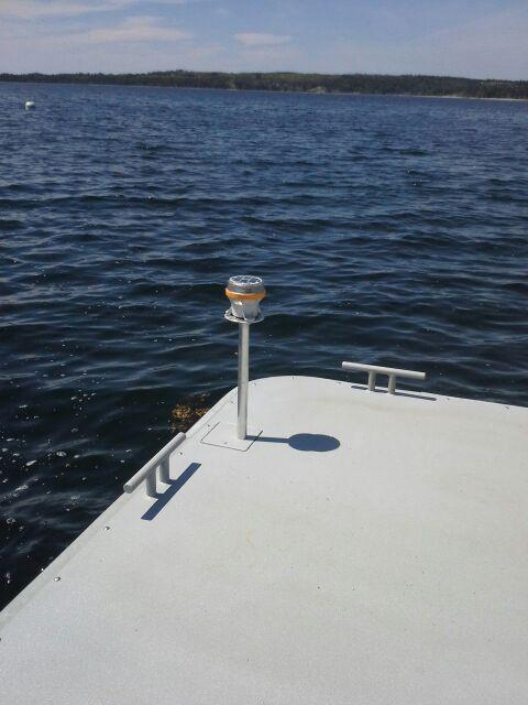 2 Nautical Mile Solar Powered Navigational Demarcation Light