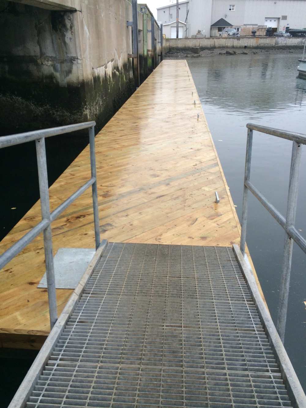 Floating Dock System, DND Fleet Dive Unit, Shearwater, NS