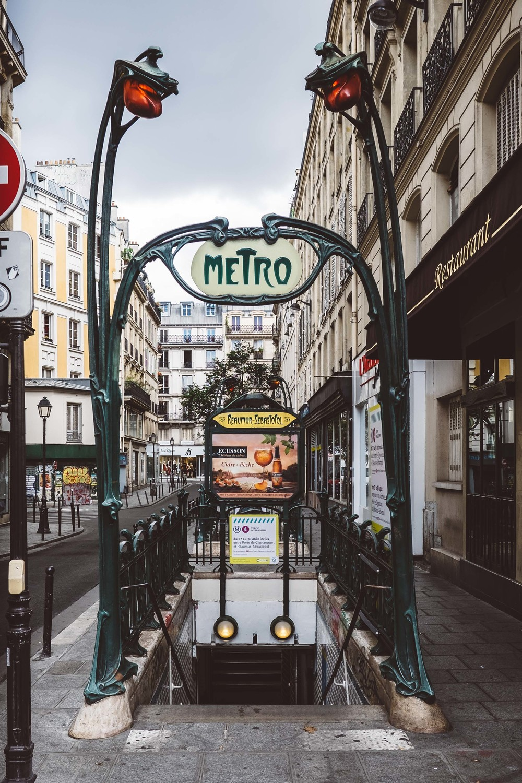 Reaumur-Sebastopol Metro Station, Paris by Milton Gan Photography.jpg