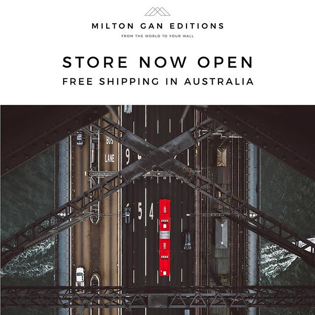 I've been promising to open a fine art print store for a good few years so I'm thrilled to announce that the account formerly known as That Which We has evolved into Milton Gan Editions and is now open for business!  The Shop features some of my most popular images (including the double gold winning Red Stripe) and there will be many more added over the coming weeks as I work through the thousands of images I have taken during my travels across Europe and the US.  In the meantime don't forget that every image in my Insta feed is also available to buy so just drop me a line and let me know what you'd like!  Images are available in four sizes, printed on archival quality cotton rag paper and personally signed by yours truly. Prices start from $100 and with Christmas coming up this could be the answer to your gift buying dilemmas! And to top it off, shipping in Australia is free. Always!  Head to the link in bio now!