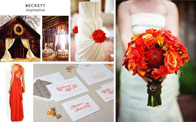Beckett Wedding Invitation Inspiration