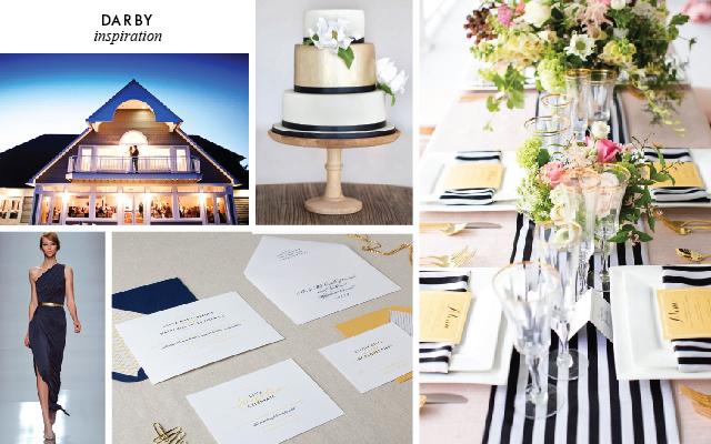 Darby Wedding Invitation Inspiration by Chelsey Emery