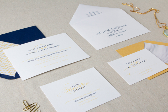 Darby Wedding Invitation Suite by Chelsey Emery
