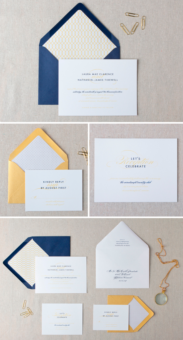 Darby Wedding Invitation Collection by Chelsey Emery