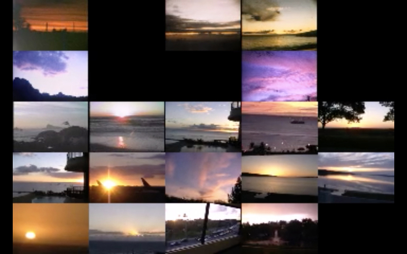 Laura Mackin, Still from  Dean Sunsets, All of Them (1952-2006)