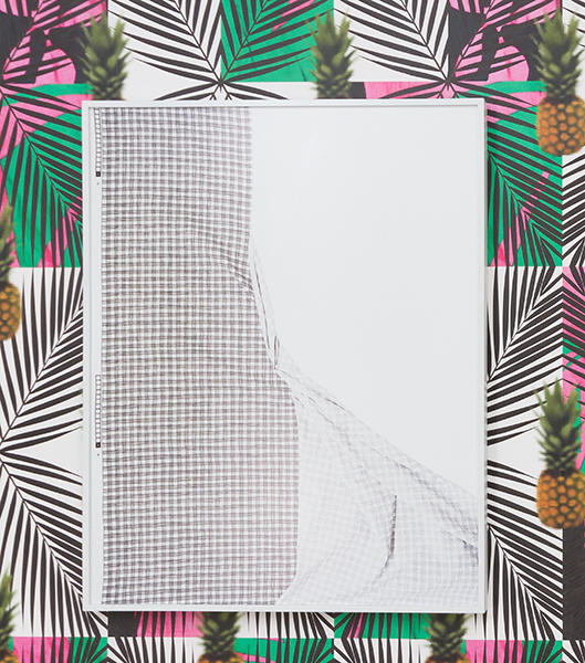 Laura Hart Newlon,  Untitled (Registration) , Drew Broderick,  Wallpaper