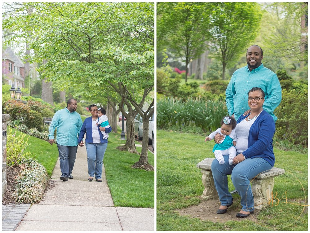 Sherwood Gardens Family Photos | Baltimore Family Photographer