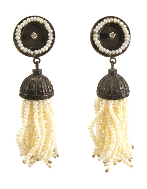 Fringe, earrings