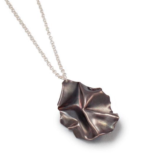 Fold, pear drop pendant