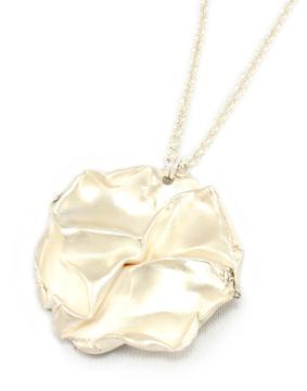 Fold, round pendant
