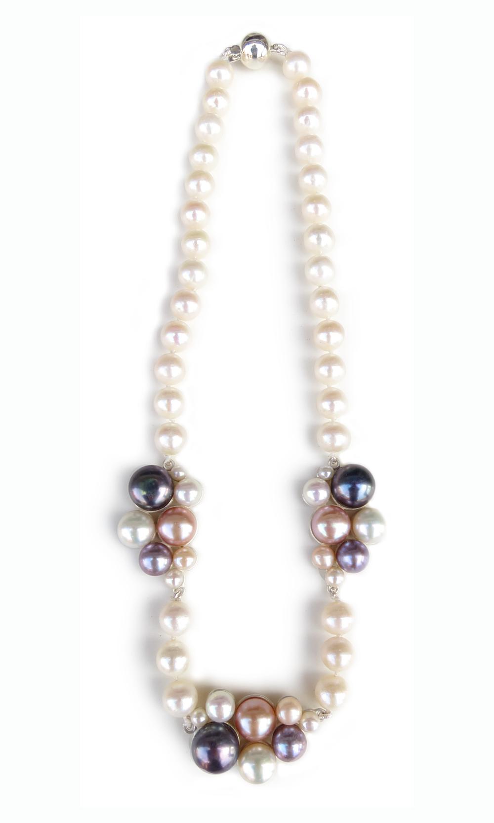 Blush, custom necklace