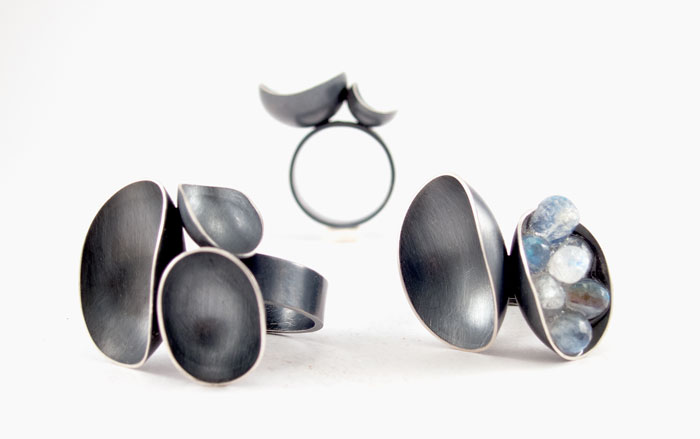 Wax + Wane rings