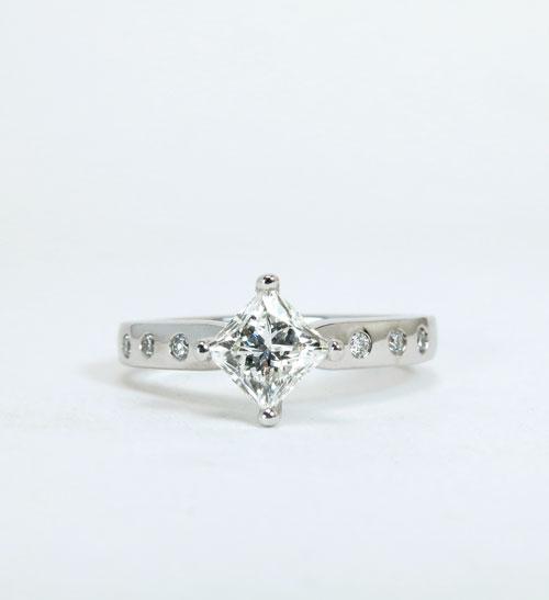 Danielle, engagement ring