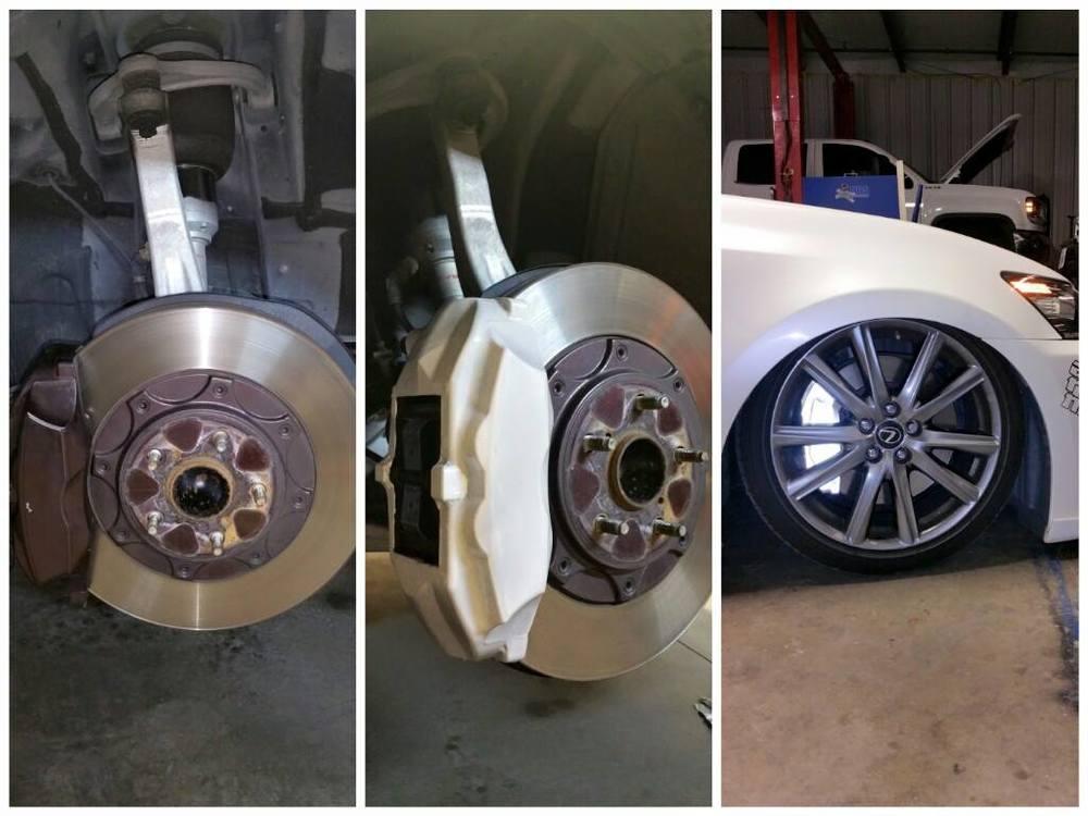 Dallas brake caliper wraps and paint