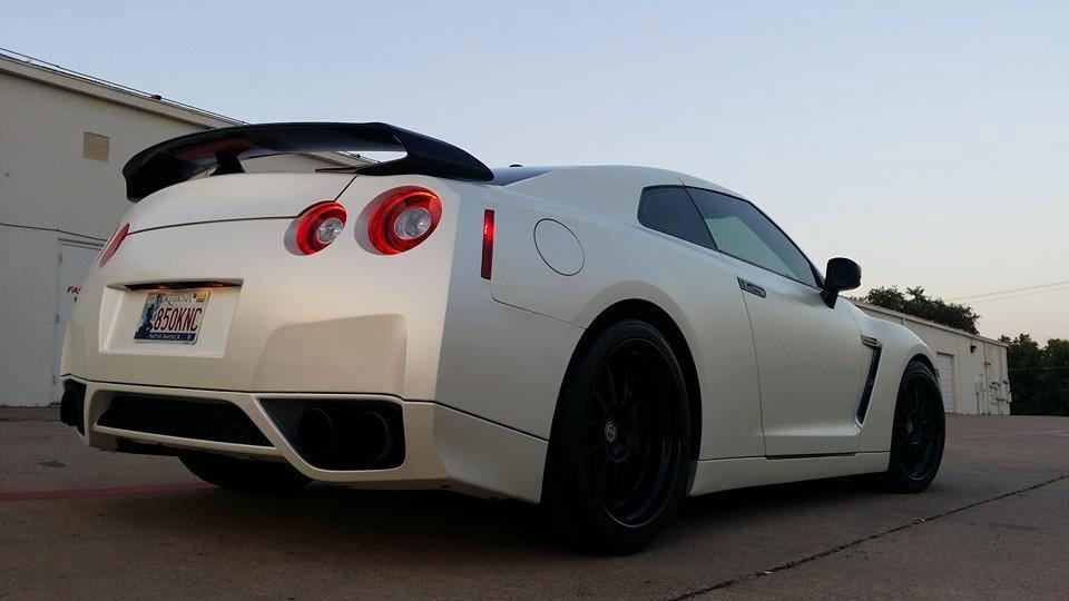 Dallas GTR car wraps