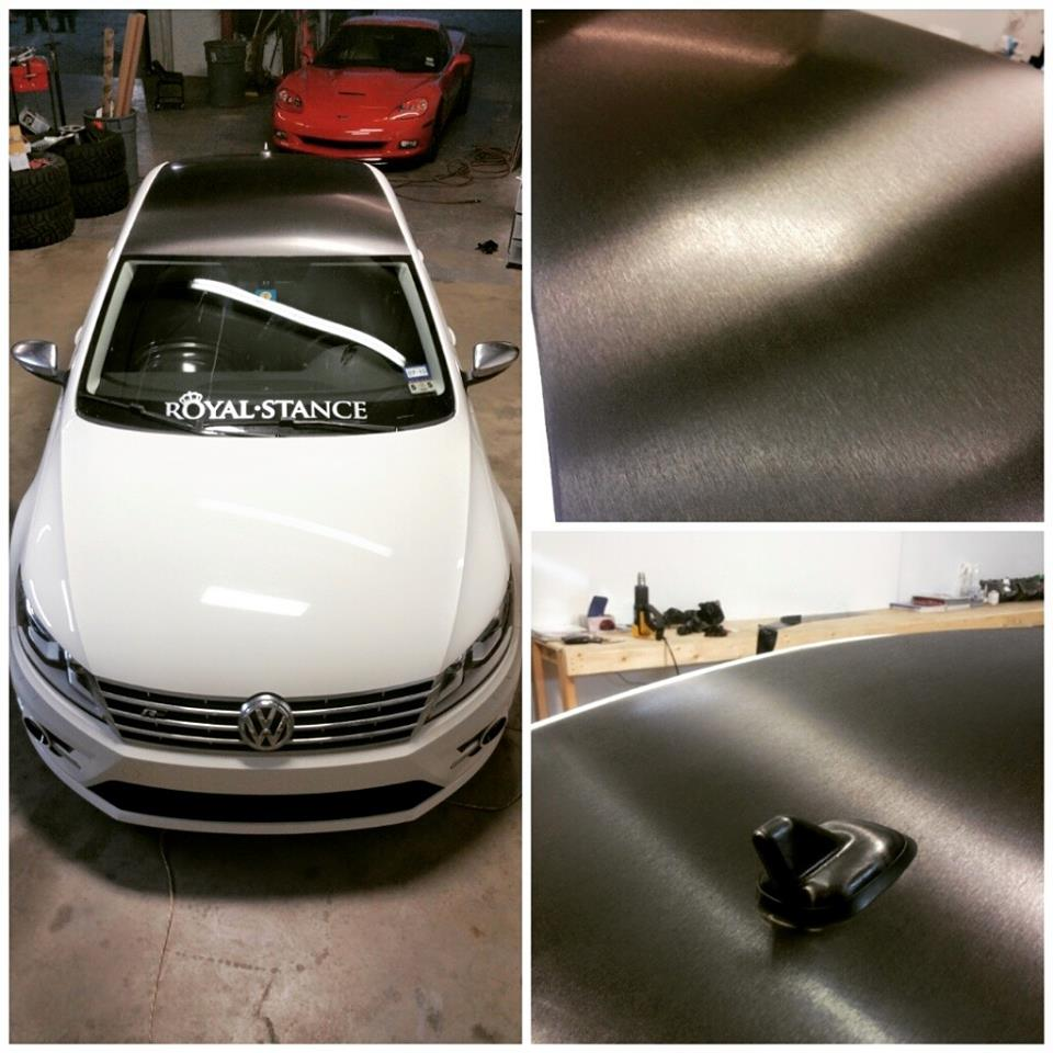 Dallas Fort Worth roof and hood wraps