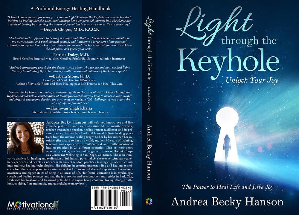Light through the keyhole by Andrea Becky Hanson