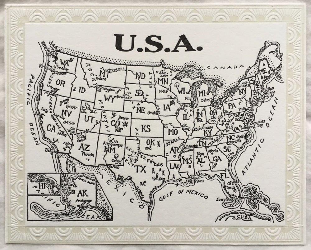 USA Letterpress