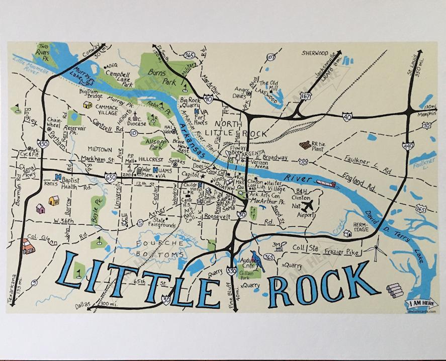 LITTLE ROCK, Arkansas — I AM HERE CARDS