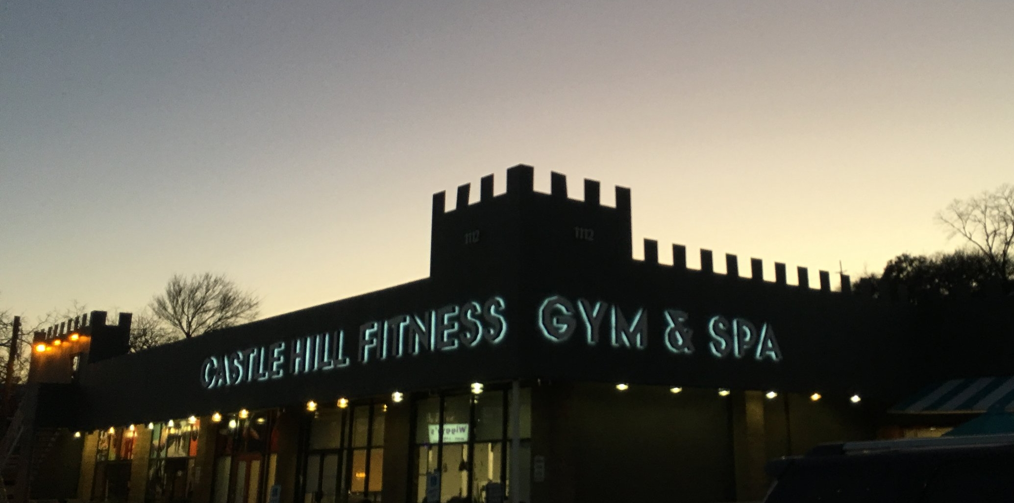 Castle Building And Remodeling Painting castle hill fitness remodel — jen figueroa