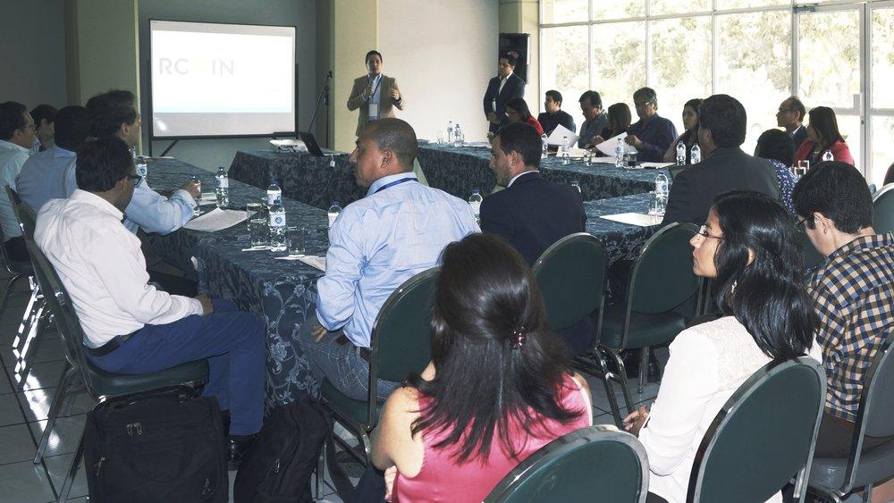RCOIN - Las Ruedas de Convergencias para la Innovación (RCOIN) son eventos donde representantes de sectores industriales crean relaciones de confianza con investigadores mundialmente reconocidos, y discuten oportunidades de colaboración estratégica.