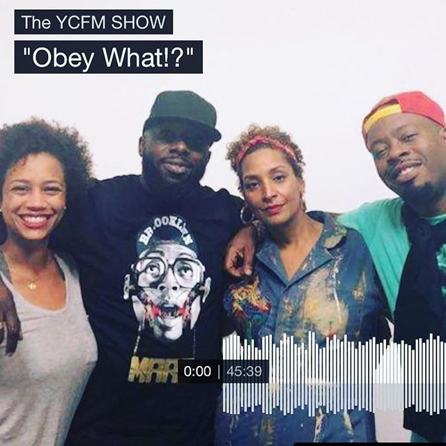 """""""This is God's work we're doing!""""— @occasionalsuperstar on the latest episode of #ycfmshow. Check it out on #applepodcasts and #soundcloud now. #podcast #datingadviceformen #datingadviceforwomen #asubmissivewoman #knealbeforezod"""