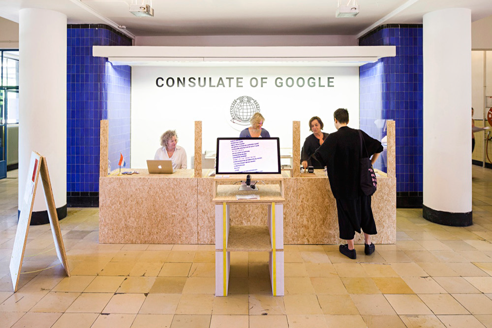 Roos Groothuizen, The consulate of Google, 2015, Design my Privacy.png