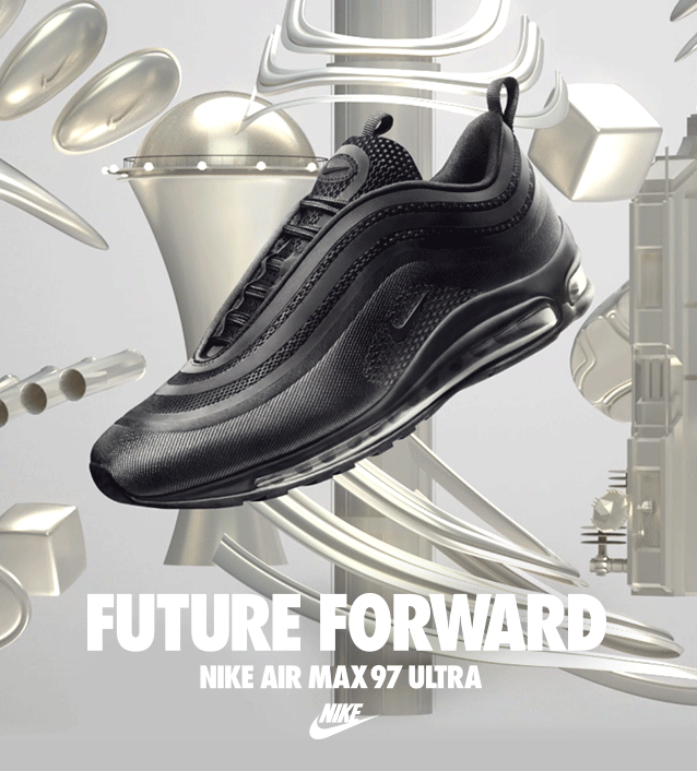 A futuristic edit to the '97 original blends iconic design with precision-tuned comfort.